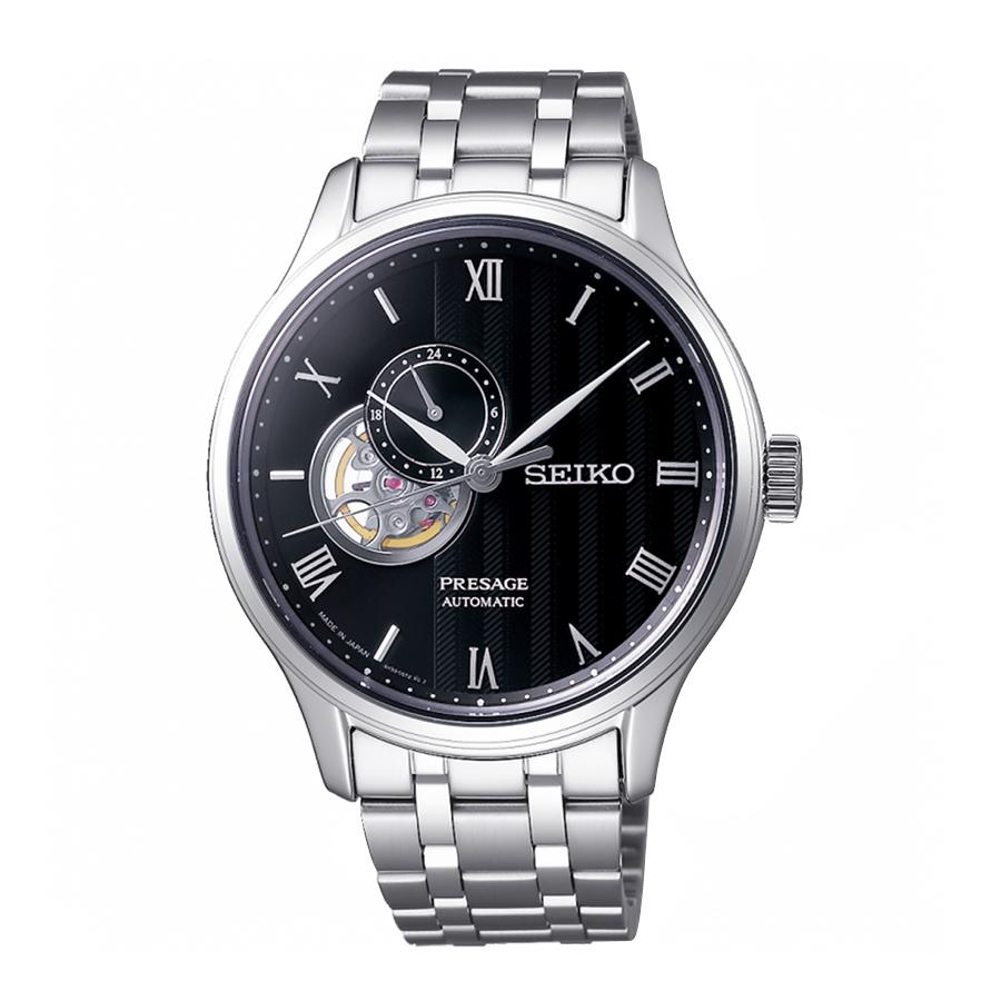 Top 15 đồng hồ Open Heart từ 3 hãng hàng đầu Nhật Bản - Ảnh: Seiko SSA377J1