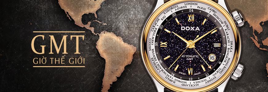 Đồng hồ với chức năng Múi Giờ GMT (Giờ Thế Giới) | Đồng Hồ Hải Triều