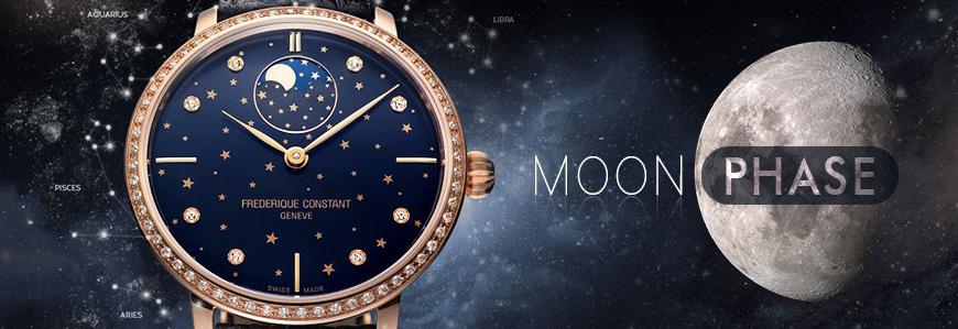 Bộ Sưu Tập Đồng Hồ Moon Phase Tuyệt Đẹp Dành Cho Nam Nữ