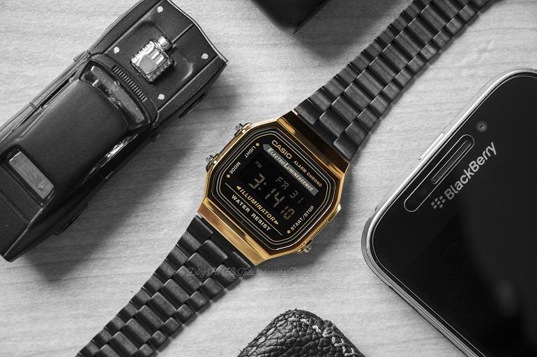 Cập Nhật Thiết Kế Và Giá Bán Dòng Đồng Hồ Casio A168 Điện Tử 1