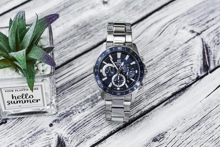Đồng hồ Casio EFV-570D-2AVUDF giá rẻ, thay pin miễn phí - Ảnh 1