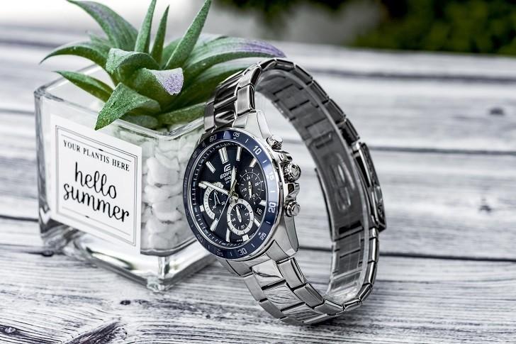 Đồng hồ Casio EFV-570D-2AVUDF giá rẻ, thay pin miễn phí - Ảnh 5