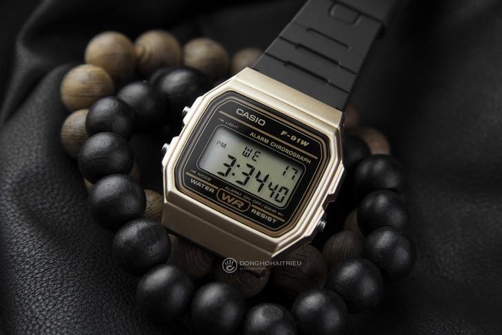 Đồng hồ Casio F-91WM-9ADF Huyền thoại giá rẻ cực bền - Ảnh 2