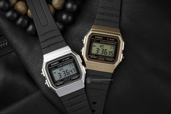 Đồng hồ Casio F-91WM-9ADF Huyền thoại giá rẻ cực bền - Ảnh 3
