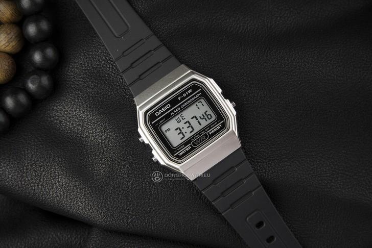 Đồng hồ Casio F-91WM-9ADF Huyền thoại giá rẻ cực bền - Ảnh 4