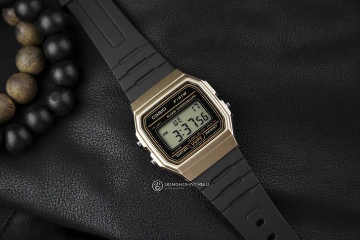Đồng hồ Casio F-91WM-9ADF Huyền thoại giá rẻ cực bền - Ảnh 5