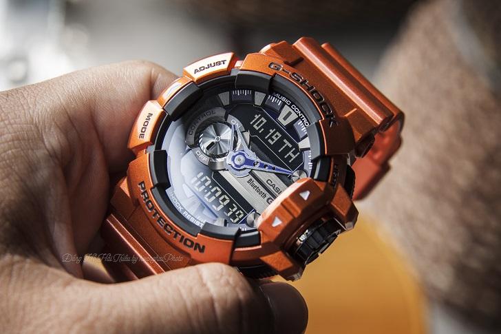 Casio G-Shock GBA-400-4BDR Độc Đáo Với Công Nghệ Bluetooth 1