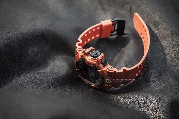 Casio G-Shock GBA-400-4BDR Độc Đáo Với Công Nghệ Bluetooth 3