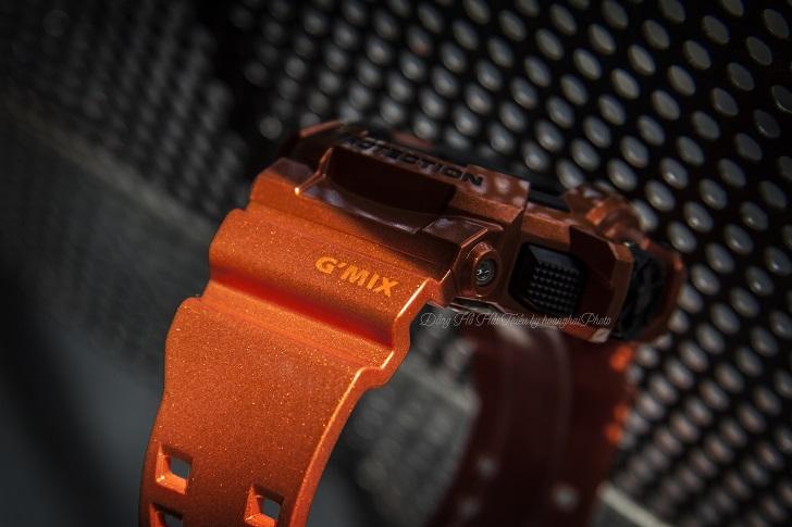 Casio G-Shock GBA-400-4BDR Độc Đáo Với Công Nghệ Bluetooth 10