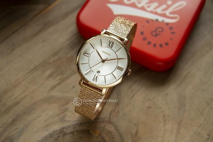 Đồng hồ Fossil ES4352 giá rẻ, thay pin miễn phí trọn đời - Ảnh 1