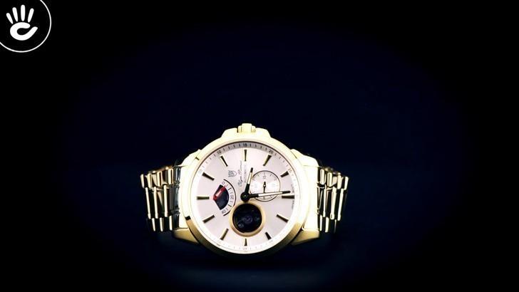 Đồng hồ Olym Pianus 9908AGK-T-88 trữ cót lên đến 40 giờ - Ảnh 1