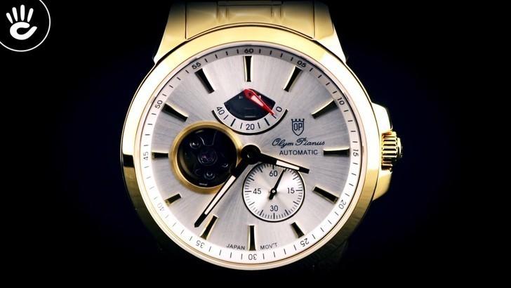 Đồng hồ Olym Pianus 9908AGK-T-88 trữ cót lên đến 40 giờ - Ảnh 2