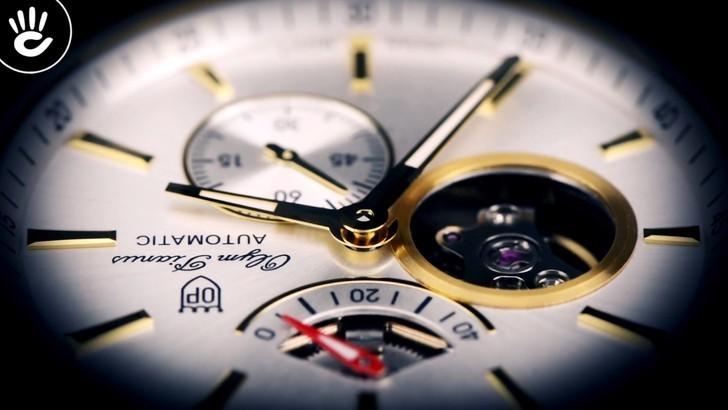 Đồng hồ Olym Pianus 9908AGK-T-88 trữ cót lên đến 40 giờ - Ảnh 5