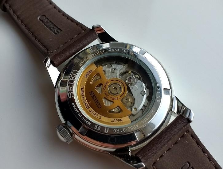 Đồng hồ cơ Seiko SRPB05J1 phong cách quân đội mạnh mẽ - Ảnh 2