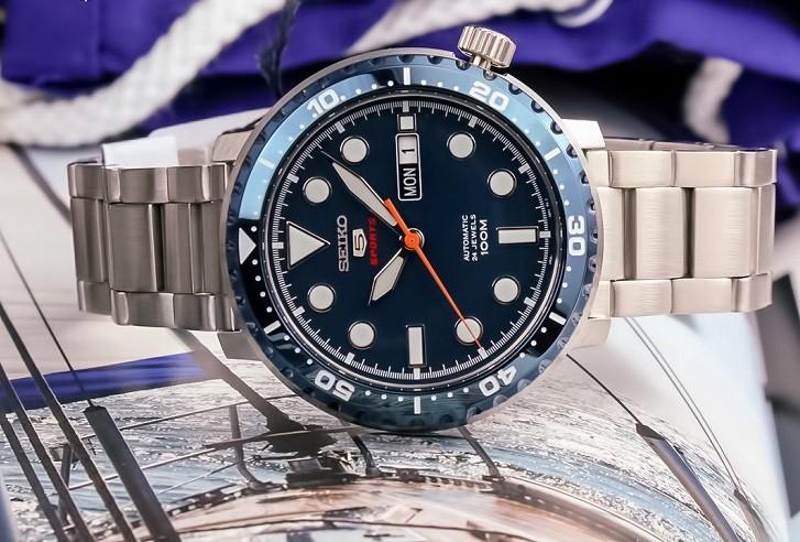 Đồng hồ Seiko SRPC63K1 chống nước 10ATM, thoải mái bơi lội - Ảnh 1