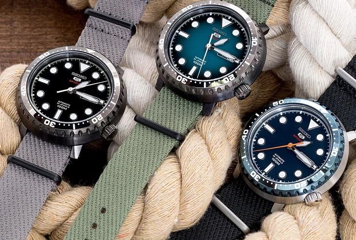 Đồng hồ Seiko SRPC63K1 chống nước 10ATM, thoải mái bơi lội - Ảnh 2