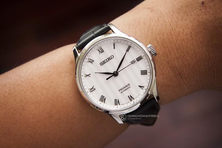 Đồng hồ Seiko SRPC83J1 máy cơ tự động, trữ cót đến 40 giờ - Ảnh 1