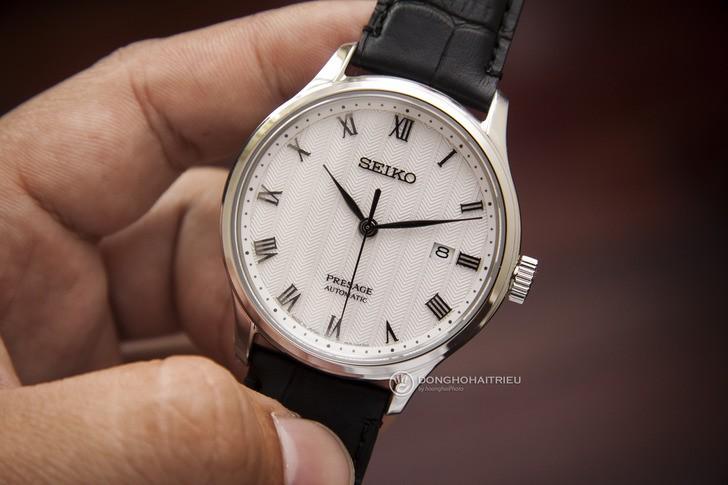 Đồng hồ Seiko SRPC83J1 máy cơ tự động, trữ cót đến 40 giờ - Ảnh 2