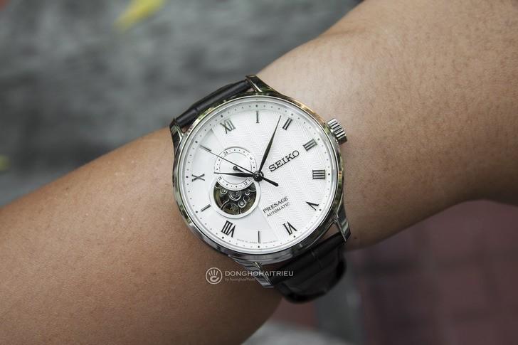 Đồng hồ Seiko SSA379J1 Automatic, trữ cót lên đến 40 giờ - Ảnh 2