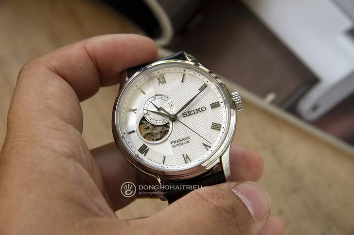 Đồng hồ Seiko SSA379J1 Automatic, trữ cót lên đến 40 giờ - Ảnh 3