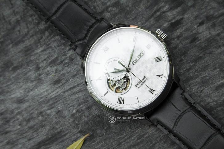 Đồng hồ Seiko SSA379J1 Automatic, trữ cót lên đến 40 giờ - Ảnh 7