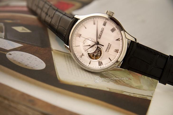 Đồng hồ Seiko SSA379J1 Automatic, trữ cót lên đến 40 giờ - Ảnh 8