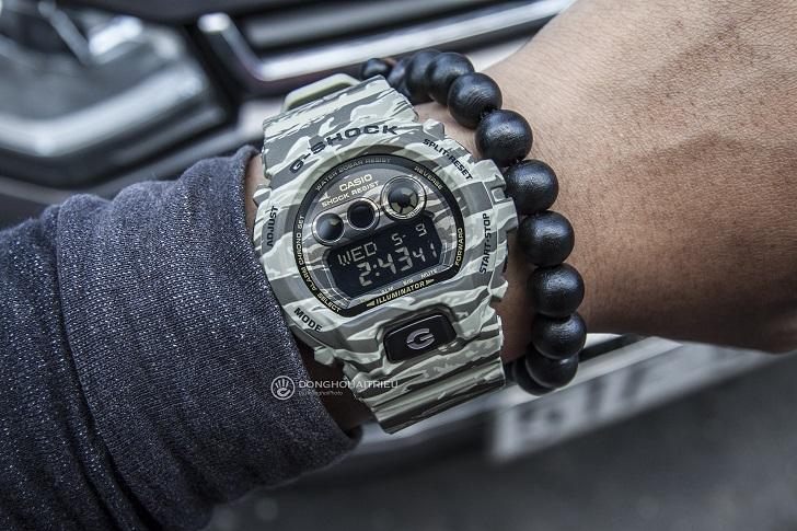 Trên Tay Đồng Hồ G-Shock GD-X6900CM-5DR Tuổi Thọ Pin 10 Năm 4