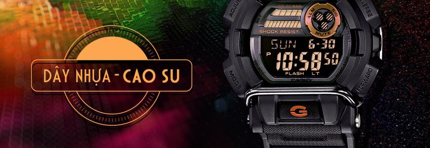 Đồng hồ dây Nhựa & Dây Cao Su
