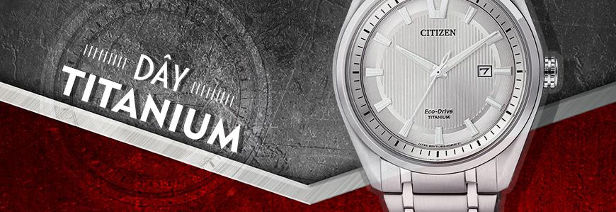 Đồng hồ dây Titanium Siêu Nhẹ, Siêu Bền
