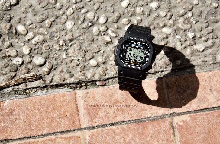 Casio G-Shock DW-5600E-1VDF: Kỷ Lục Mới Cho Dòng Đồng Hồ Thể Thao 5