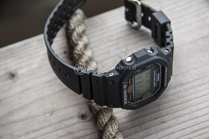 Casio G-Shock DW-5600E-1VDF: Kỷ Lục Mới Cho Dòng Đồng Hồ Thể Thao 6