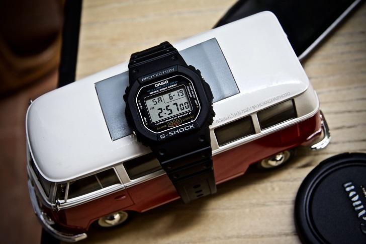 Casio G-Shock DW-5600E-1VDF: Kỷ Lục Mới Cho Dòng Đồng Hồ Thể Thao 1