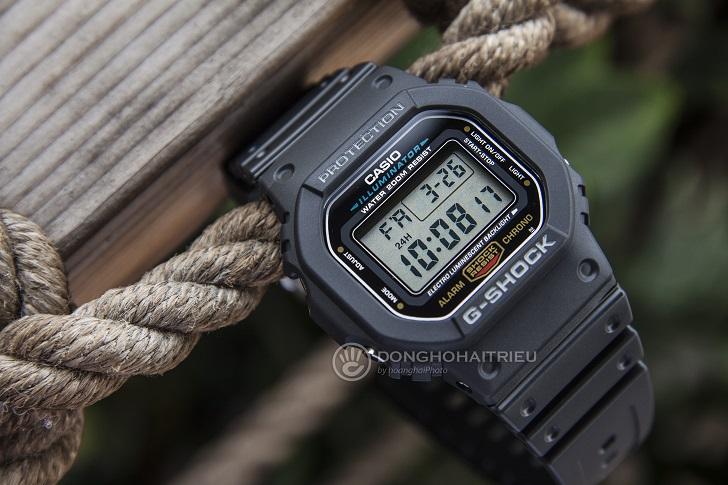 Casio G-Shock DW-5600E-1VDF: Kỷ Lục Mới Cho Dòng Đồng Hồ Thể Thao 3