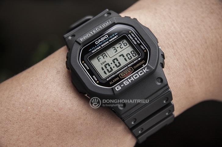 Casio G-Shock DW-5600E-1VDF: Kỷ Lục Mới Cho Dòng Đồng Hồ Thể Thao 4