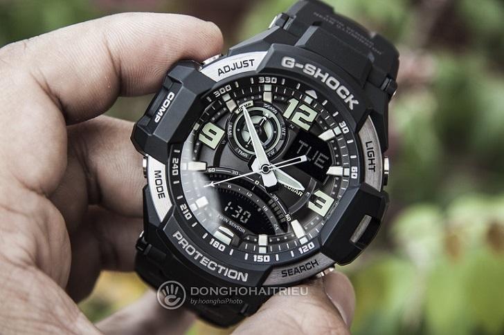 """Casio G-Shock GA-1000-1BDR Bổ Sung Vào """"Gravitymaster Collection"""" Đình Đám 1"""