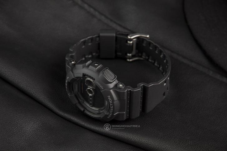 Casio G-Shock GD-100-1BDR Trọn Tông Đen Cho Anh Chàng Cá Tính 2