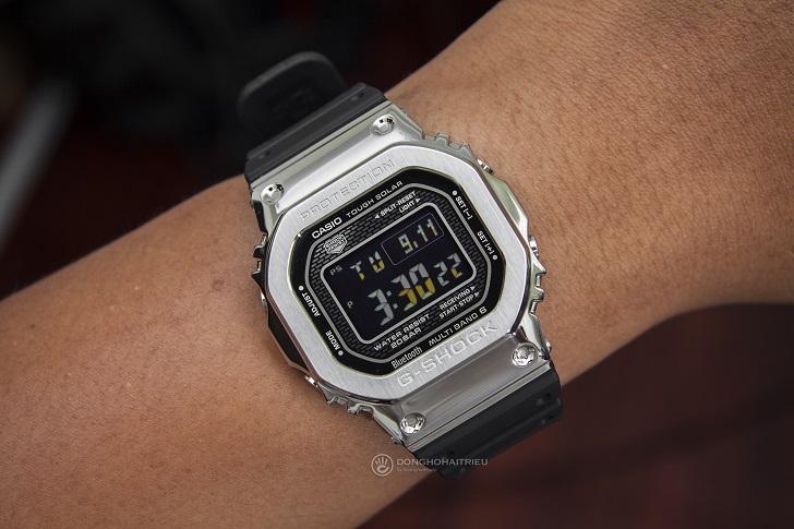 Casio G-Shock GMW-B5000-1DR: Bluetooth®, Multiband 6 Và Tough Solar 5