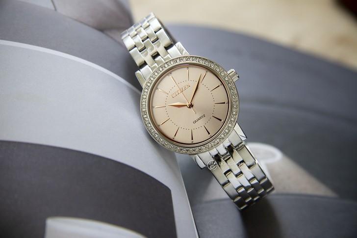 Đồng hồ Citizen EL3041-87X 100% máy Nhật, siêu mỏng 7mm - Ảnh 1