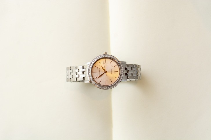 Đồng hồ Citizen EL3041-87X 100% máy Nhật, siêu mỏng 7mm - Ảnh 8