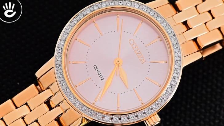 Đồng hồ Citizen EL3043-81X máy Nhật và thay pin miễn phí - Ảnh 2