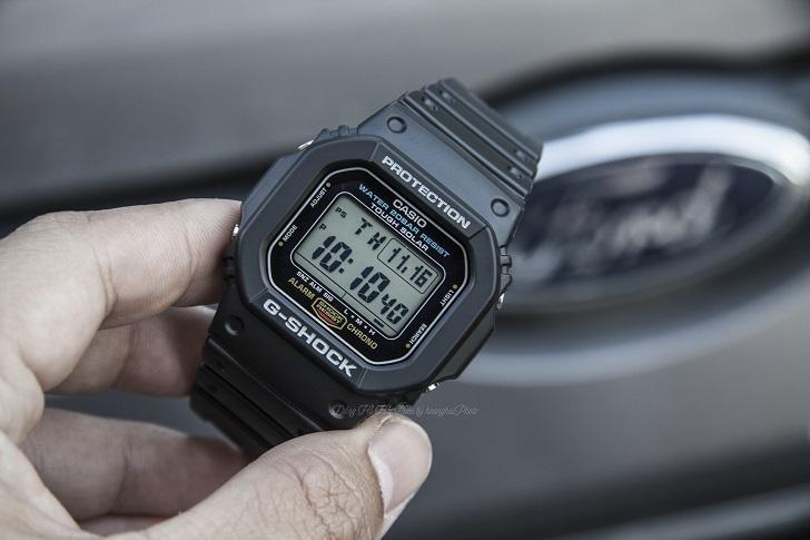 """Đồng Hồ Casio G-Shock G-5600E-1DR: Thiết Kế Nhỏ, Chức Năng """"To"""" 2"""
