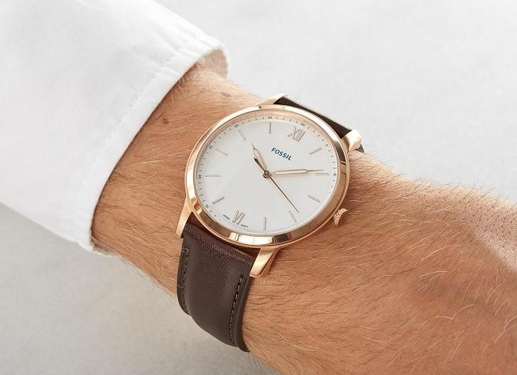 Đồng hồ Fossil FS5463 giá rẻ, thay pin miễn phí trọn đời - Ảnh 1