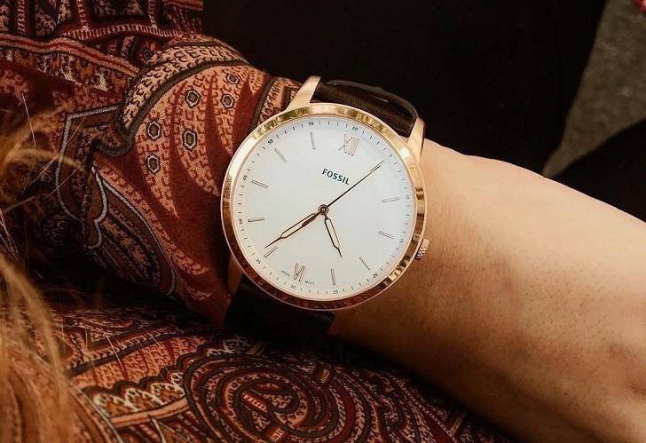 Đồng hồ Fossil FS5463 giá rẻ, thay pin miễn phí trọn đời - Ảnh 2