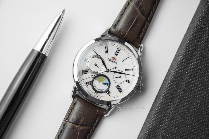 Đồng hồ Orient RA-KA0005A00B lịch trăng giá tốt bất ngờ - Ảnh 1
