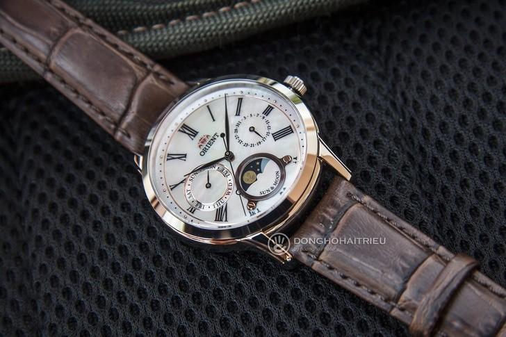 Đồng hồ Orient RA-KA0005A00B lịch trăng giá tốt bất ngờ - Ảnh 3