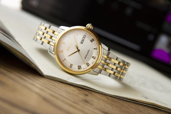 Đồng hồ nữ Seiko SRP884J1 automatic, trữ cót đến 40 giờ - Ảnh 1