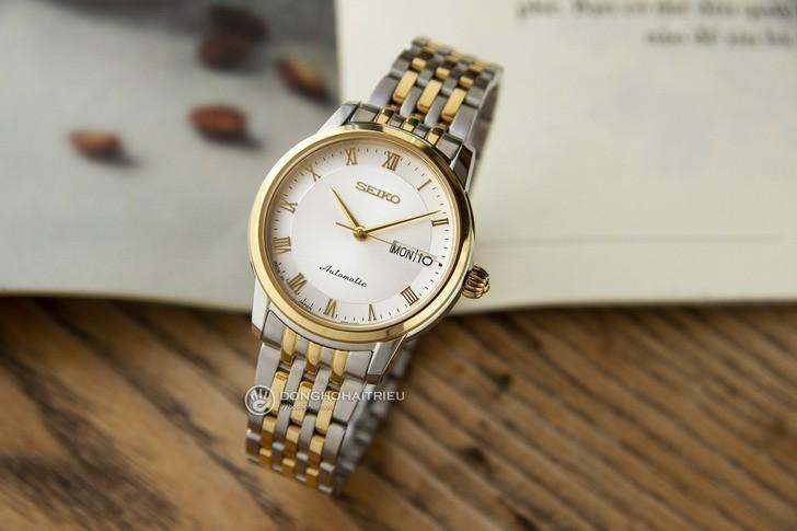 Đồng hồ nữ Seiko SRP884J1 automatic, trữ cót đến 40 giờ - Ảnh 2