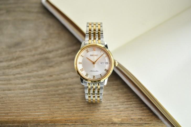 Đồng hồ nữ Seiko SRP884J1 automatic, trữ cót đến 40 giờ - Ảnh 6