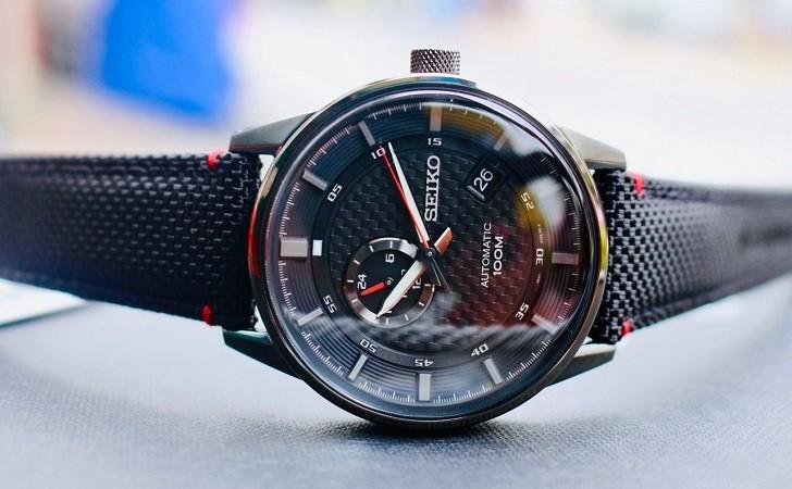 Seiko SSA383K1 ấn tượng với đồng hồ dây vải tích hợp máy tự động - Ảnh 3