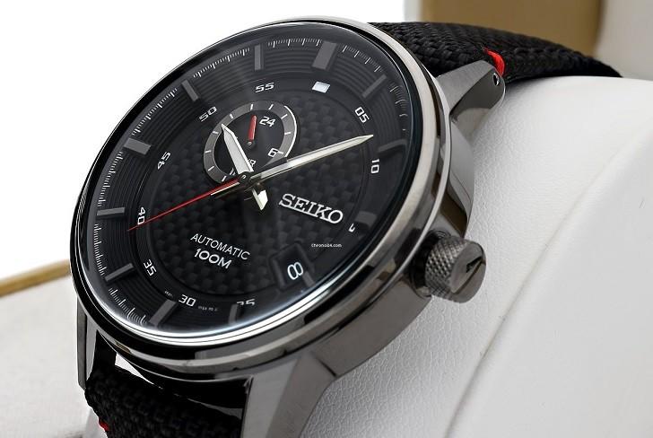 Seiko SSA383K1 ấn tượng với đồng hồ dây vải tích hợp máy tự động - Ảnh 5
